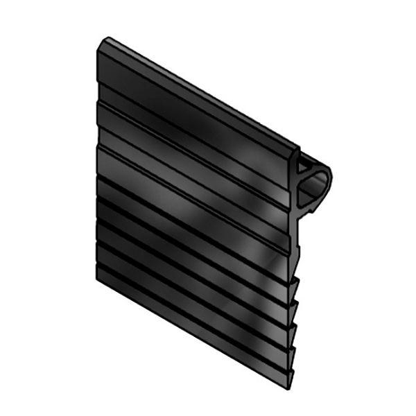 Abschlussprofil mk 3030, schwarz