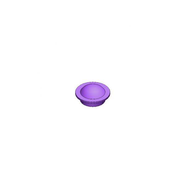 Haltestopfen M12 violett