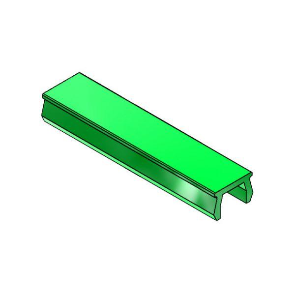 Verschlussprofil mk 3016, grün