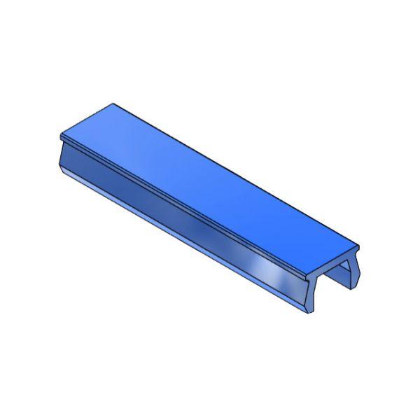 Verschlussprofil mk 3014, blau